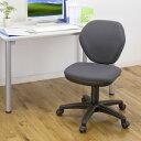 シンプルで安価なオフィスチェア(グレー) EED-SNC025GY【送料無料】