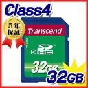 Transcend(トランセンド・ジャパン)SDHCカード(32GB・class4)【05P03Dec16】