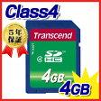 Transcend(トランセンド・ジャパン)SDHCカード(4GB・class4)【05P27May16】