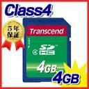 Transcend(トランセンド・ジャパン)SDHCカード(4GB・class4)