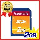Transcend SDメモリカード 2GB【05P03Dec16】