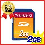 Transcend SDメモリカード 2GB
