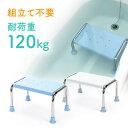 浴槽台 浴槽内 椅子 風呂 浮かない 半身浴 踏み台 ステップ台 ゴム足付き 高さ23センチ 介護用品 敬老の日 プレゼント EEX-SUPA14