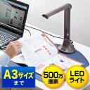 スタンドスキャナー(USB書画カメラ・A3対応・500万画素・LEDライト付)【送料無料】