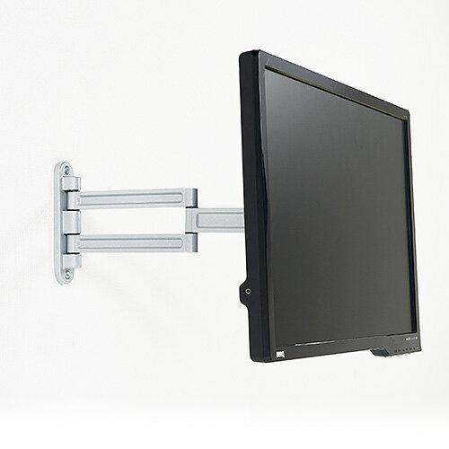 モニターアーム VESA 壁取付 水平 3関節...の紹介画像3