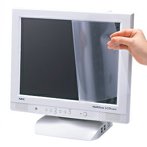 画面への反射を防ぎPC作業を快適にする、液晶保護...の商品画像