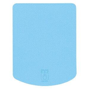 「これで充分!!」なサイズの縦型超小型光学・レーザー対応のマウスパッド(ライトブルー) MPD-T1LB サンワサプライ【ネコポス対応】
