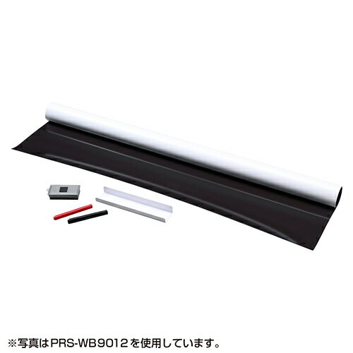 【訳あり 新品】プロジェクタースクリーン(80インチ相当・マグネット式) ※箱にキズ、汚れあり PRS-WB9018 サンワサプライ