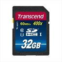 Transcend SDHCカード 32GB Class10 UHS-I対応 400x TS32GSDU1P【05P03Dec16】