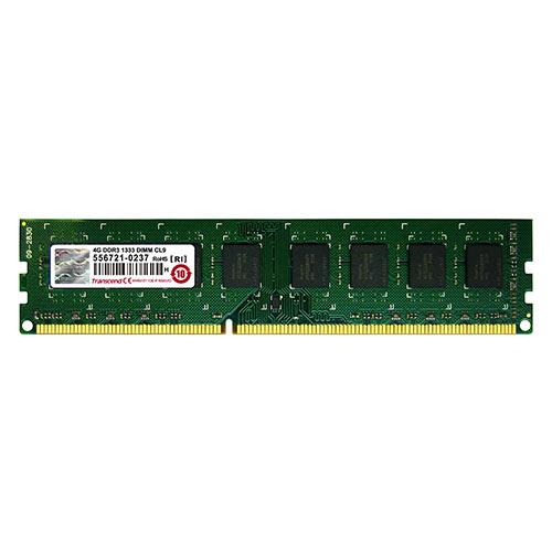 Transcend 増設メモリ 4GB DDR3-1333 PC3-10600 DIMM TS512MLK64V3N【ネコポス対応】【送料無料】