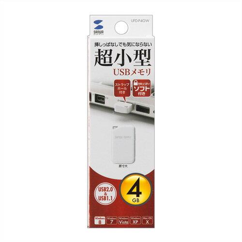 USBメモリ(4GB・USB2.0・超小型・ホ...の紹介画像2
