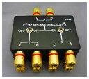 【ポイント5倍】SS-22 (SS22)【BTL対応】1in→2out(同時出力)スピーカーセレクター