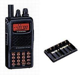 FT-60&FBA-25A【即日発送】電池ケース&ニッケル水素・充電器八重洲無線(スタンダード)アマチュア無線機(FT60)