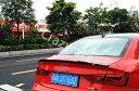 楽天イーテックコマースアウディ カーボンファイバー リアトランク リップスポイラーウィング A3 S3 8 Vセダン2014-2015 Vスタイル ステアリング
