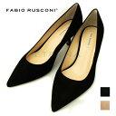 ショッピングハイヒール Fabio Rusconi ファビオルスコーニ 靴 パンプス レディース ハイヒール イタリア インポート 黒 ベージュ ポインテッドトゥ WILF