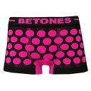 BETONES/ビトーンズ/BUBBLE/PINK/0172/メンズファッション/インナー/下着/ナイトウエア/メンズインナー/ボクサーパンツ