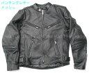 【Clooney】MJ06 本革 パンチング レザージャケット 牛革 メッシュ ライダース メンズ シングル 革ジャケット バイク 皮ジャン アウター ブルゾン 黒 ブラック