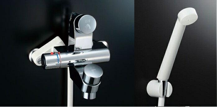 LIXIL 【INAX】 シャワーバス水栓LIXIL セルフストップ付洗い場専用サーモスタットシャワーバス水栓BF-2142TSD