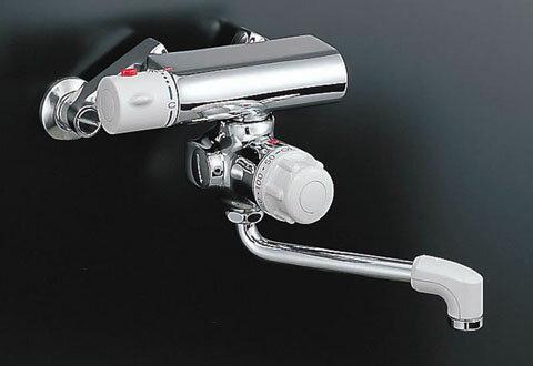 LIXIL 【INAX】 バス水栓定量止水付サーモスタットバス水栓 BF-M340T