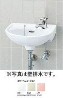 平付大形手洗器(水栓穴1)床排水セットL-15AG/○○+LF-1