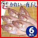 かれい 一夜干し(ヤナギムシカレイ、笹ガレイ、若狭ガレイ、柳かれい、べたかれい)干物セット 6尾入【