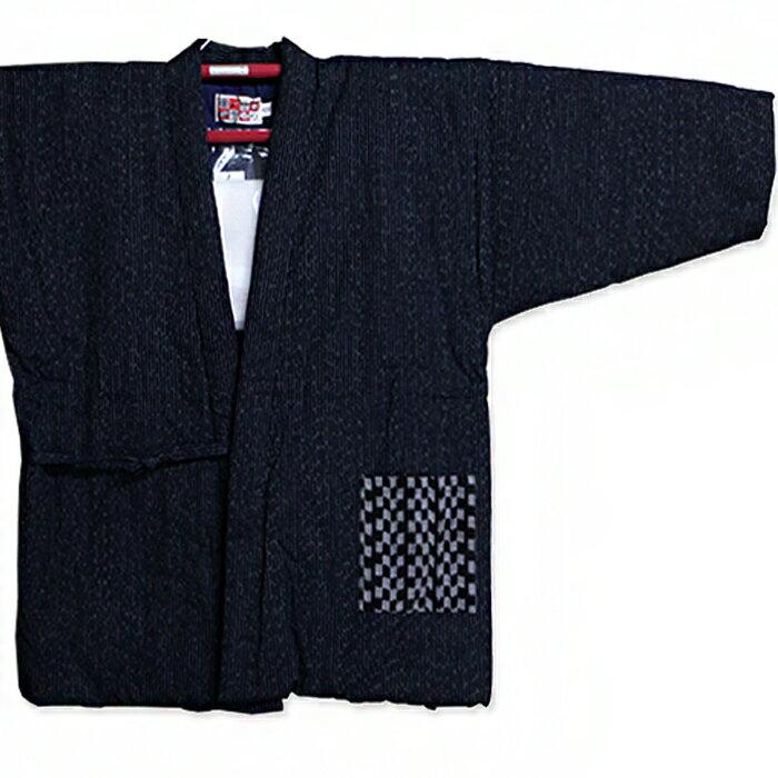 四つ紐前合わせ はんてん ラグラン半纏 綿100% 宮田織物945X 久留米半纏 半天 袢纏 半てん ハンテン
