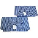 七五三 袴単品 紐下52・60cm 正絹はかま 男の子 紺縞 小・大サイズ 端午の節句 男児 着物