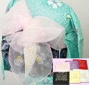 プチ兵児帯・帯飾り6色 浴衣にバラにハートが可愛い!【あす楽対応_関東】