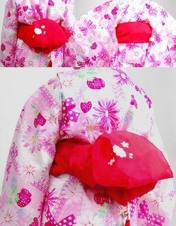 Kids children's heko three-color Bell with cherry blossom print