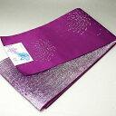 浴衣帯 長尺 半幅帯 青紫 花火 約4.3M