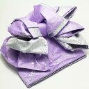 子供 作り帯 シャンデリア 兵児帯 浴衣帯 紫 こどもゆかた...