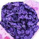 作り帯 浴衣帯 撫子紫 兵児帯 フラワー結び帯 結び帯 ゆかた 帯 送料無料