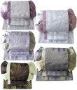 作り帯 浴衣帯 お太鼓蝶結び帯 金魚 両面小袋半幅帯 レトロモダン