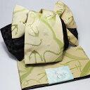 作り帯 浴衣帯 両面小袋半幅帯 ヨットカラシ