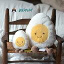ラージサイズ ボイルドエッグ イギリス生まれの高級縫いぐるみ たまご大きいゆで卵 縫いぐるみ【小さい方は別売りです】