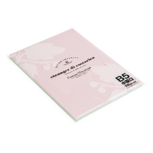 エトランジェ・ディ・コスタリカ b5 コピー用紙 B5 ペーパー 100シート 【色上質紙】 【5色アソート】 アソート OAペーパー