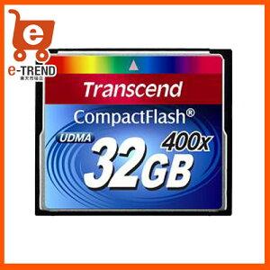 ★送料無料★トランセンド TS32GCF400 [32GB コンパクトフラッシュ]