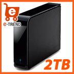 【送料無料】HD-LB2.0TU3-BKC [USB3.0 外付けハードディスク 2TB]