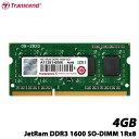 【送料無料】トランセンド JM1600KSH-4G [DDR3 Memory 204Pin SO-DIMM DDR3-1600 4GB 1Rx8]