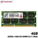 【送料無料】トランセンド TS512MSK64W6N [4GBメモリ DDR3L-1600 SO-DIMM CL11 2Rx8]