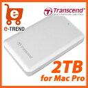 【送料無料】トランセンド TS2TSJM300 [StoreJet 300 Thunderbolt/USB 3.0対応 ポータブルHDD 2TB]