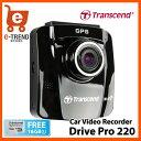 【送料無料】トランセンド TS16GDP220M-J [DrivePro 220 GPS/Wi-Fi/バッテリー搭載ドライブレコーダー 吸盤マウント付属]