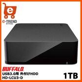 【送料無料】バッファロー DriveStation HD-LC1.0U3-BKD [USB3.0用外付HDD 1TB ブラック]