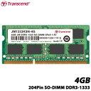 【送料無料】 トランセンド JM1333KSN-4G [DDR3 Memory 204Pin SO-DIMM DDR3-1333 4GB]