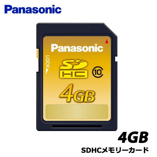 パナソニック RP-SDWA04GJK [4GB SDHCメモリーカード]
