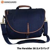 【送料無料】VANGUARD The Heralder 38 NV [ヘラルダーシリーズ ショルダーバッグ リミテッドエディション ネイビー]【カメラバック】