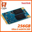 【送料無料】SDMSATA-256G-G25C [Ultra II SSD(256GB mSATA 6G 3年保証)]