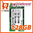 【送料無料】トランセンド TS128GMTS400 [SATA-III 6Gb/s MTS400 M.2 SSD 128GB]【05P27May16】