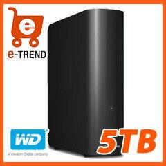 【送料無料】WesternDigital WDBWLG0050HBK-JESN 【USB3.0】【外付けハードディスク】 【5TB】