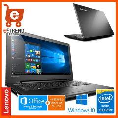 ������̵���ۥ�Υܡ�����ѥ�80M30015JP[Lenovoideapad300[Cel-N30504G500Gwin10OfficePremium(Black)]